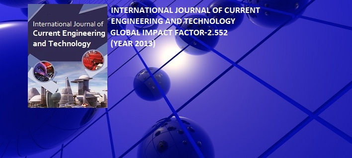 international journal  current engineering  technology inpressco
