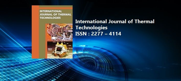 International Journal of Thermal Technologies